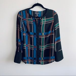 Plaid Limited Blouse